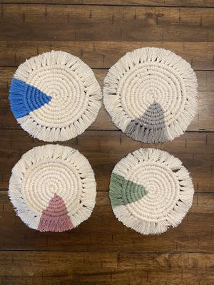 Macrame Coaster for Sale in Cottondale, AL