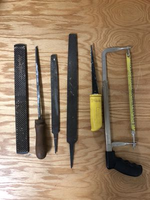Saws and metal files for Sale in Chicago, IL