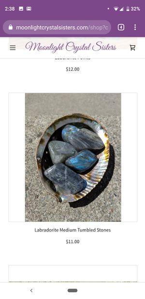 Labradorite Medium tumbled stones $11 each for Sale in Oakland, CA