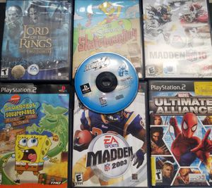 Excellent working condition PS2 game system games 2 controllers and carry travel bag for Sale in Morton Grove, IL