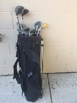 Golf clubs and bag for Sale in Tampa, FL