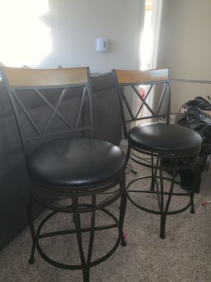 2 newish Barstools- NEED GONE ASAP for Sale in Renton, WA