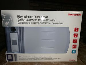 HONEYWELL RCWl250A Decor Wireless Door Chime &Push for Sale in Rockville, MD