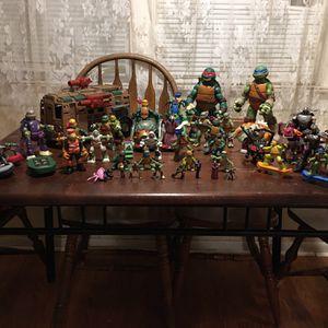 Variety Of Ninja Turtles Figures for Sale in Elkridge, MD