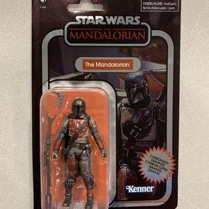 "The Mandalorian Carbonized Vintage Black Series *MINT* 4"" 3.75"" Star Wars Kenner F1420 Walmart Exclusive Action Figure Hasbro retro Disney for Sale in Lewisville, TX"