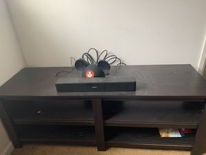 Large spacious tv stand for Sale in Stanton, CA
