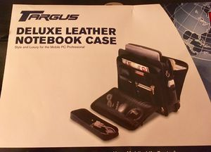 TARGUS Deluxe Leather Notebook Case for Sale in Independence, OH
