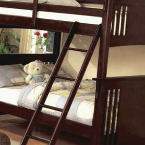 Bunk Bed FULL FULL Free Mattress Can Deliver for Sale in Atlanta, GA