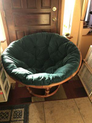 Papasan Chair for Sale in Visalia, CA