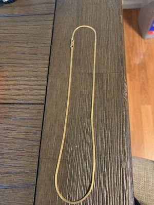 "Gorgeous 14K Gold Chain 18"" long for Sale in Brighton, CO"