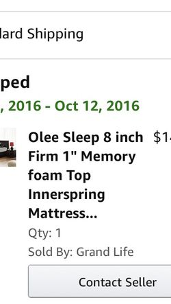 Queen Memory Foam With Inner Springs + Box Spring + Frame for Sale in Carlsbad,  CA