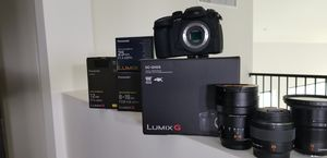 Panasonic GH5s with Premium Leica Lenses 12mm, 25mm, 8-18mm, 42mm for Sale in Scottsdale, AZ