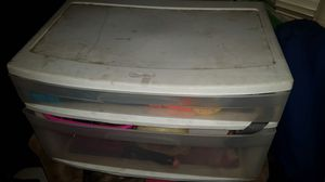 Plastic container storage drawer for Sale in Los Angeles, CA