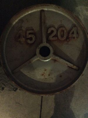 Weight plate for Sale in Fontana, CA