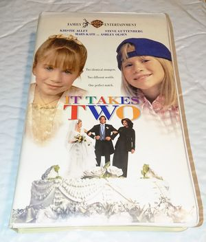 """""""It Takes Two"""" - VHS 📼 movie for Sale in Miami, FL"""