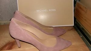 Michael Kors Dorothy Rose suede pumps for Sale in Chevy Chase, MD