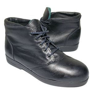 RED WINGS Work Steel Toe Safety Boots Shoes Vtg USA Griptec 2370 Womens US 6.5 for Sale in West Columbia, SC