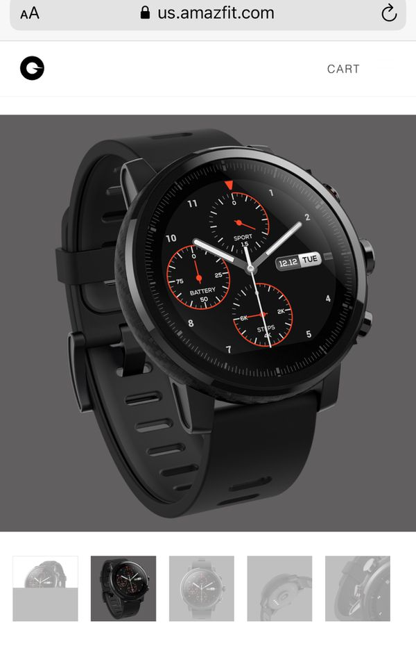 Amazefit Stratos MultiSport GPS Smartwatch