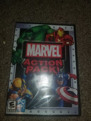 Computers marvel action pack 10 games in one for Sale in Morgantown, WV