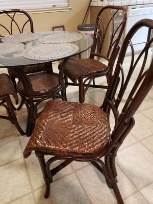 Glass top dining table for Sale in Riverbank, CA