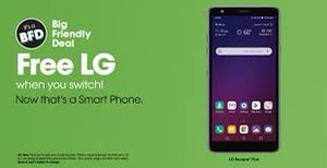 Free when you switch LG escape plus for Sale in Winston-Salem, NC