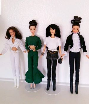 4 Selena Doll Custom Outfits for Sale in Fontana, CA