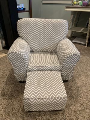 Kids chair + ottoman for Sale in Gig Harbor, WA
