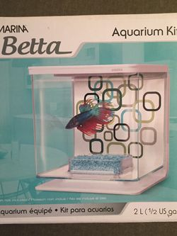 Betta Fish Aquarium Kit Wall Mountable for Sale in Brooklyn,  NY