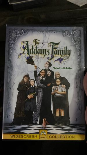 The Addams Family DVD for Sale in Bellflower, CA