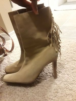 Lei tan boots size 7 1/2!!!!! for Sale in Sammamish, WA