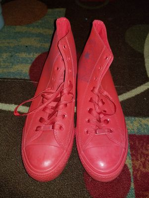 Converse size 11 Houston design $30 for Sale in Kissimmee, FL