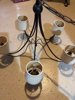 Wrought Iron chandelier for Sale in Alexandria, VA