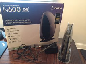 Belkin modem and router N600 for Sale in Naperville, IL