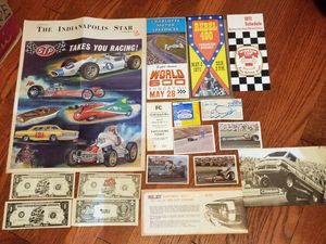 Selling large amounts of automotive memorabilia- patchs, stickers, magazines, sale brochures, ticket stubs, programs, newspaper articles, etc for Sale in Bethesda, MD