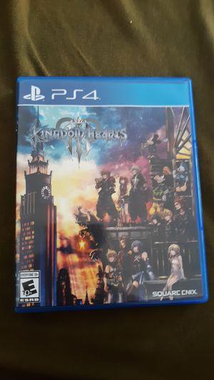 Kingdom Hearts PS4 for Sale in Chino, CA