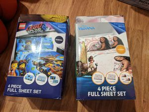 Bed Sheets ( 4 PC full sheet set) for Sale in Arlington, TX