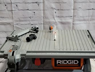 Ridgid 7 In. Table Top Wet Tile Saw for Sale in San Jose,  CA