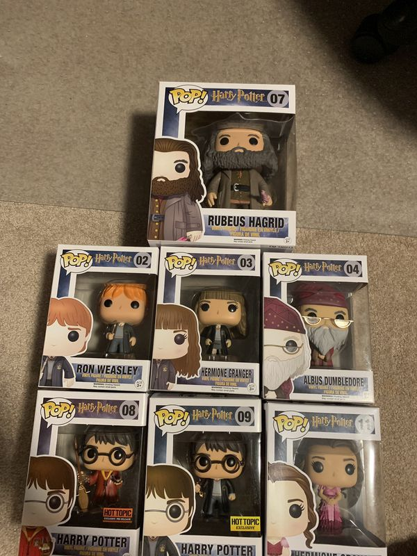 Harry Potter Funko PoP Set