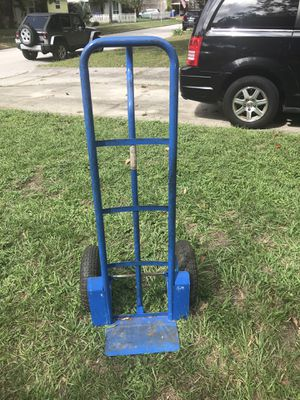 Hand truck/dolly used occasionally, kept in garage and shed. Tires in good shape. for Sale in St. Petersburg, FL
