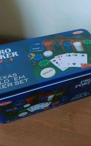 Texas Hold 'Em Poker Set for Sale in Portland, ME
