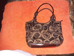Brown n Tan purse for Sale in Parkland, WA