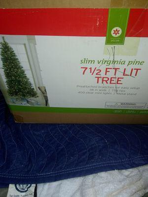 71/2 feet prelit Christmas tree need stand for Sale in Alexandria, VA
