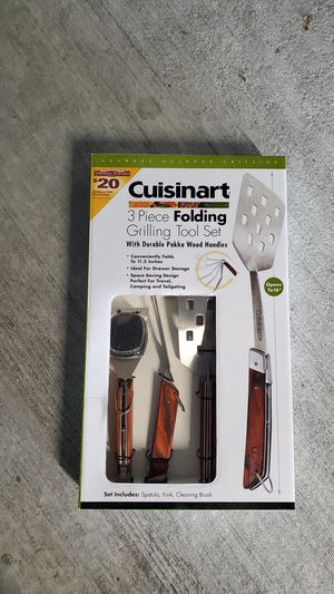New Cuisinart bbq grill tool set for Sale in Coral Springs, FL