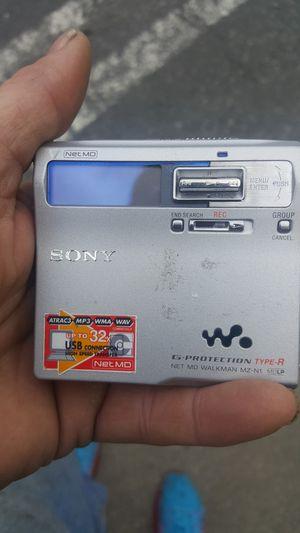 Sony mini disc. Mz-n1 for Sale in Seattle, WA