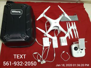 DJI Phantom 4 - 2 Batteries, Charger, Controler, iPad Air - Like New Condition for Sale in Ocean Ridge, FL