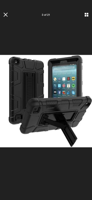 Amazon kindle fire 7 Tablet Case shock Proof for Sale in White Marsh, MD
