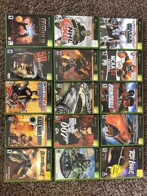 Xbox games and ps2 games for Sale in Frisco, TX