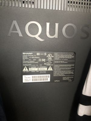 Tv sharp aquos 65in for Sale in Lodi, CA