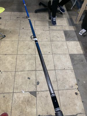 Blue seeker fishing rod for Sale in Long Beach, CA