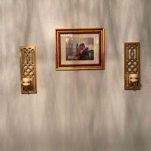Candle Holder And 11x14 Picture Frame for Sale in New Orleans, LA